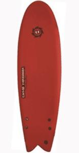 5 ft 10 inch Retro Fish EZ Slider Soft Surfboard