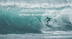 common surfing mistakes