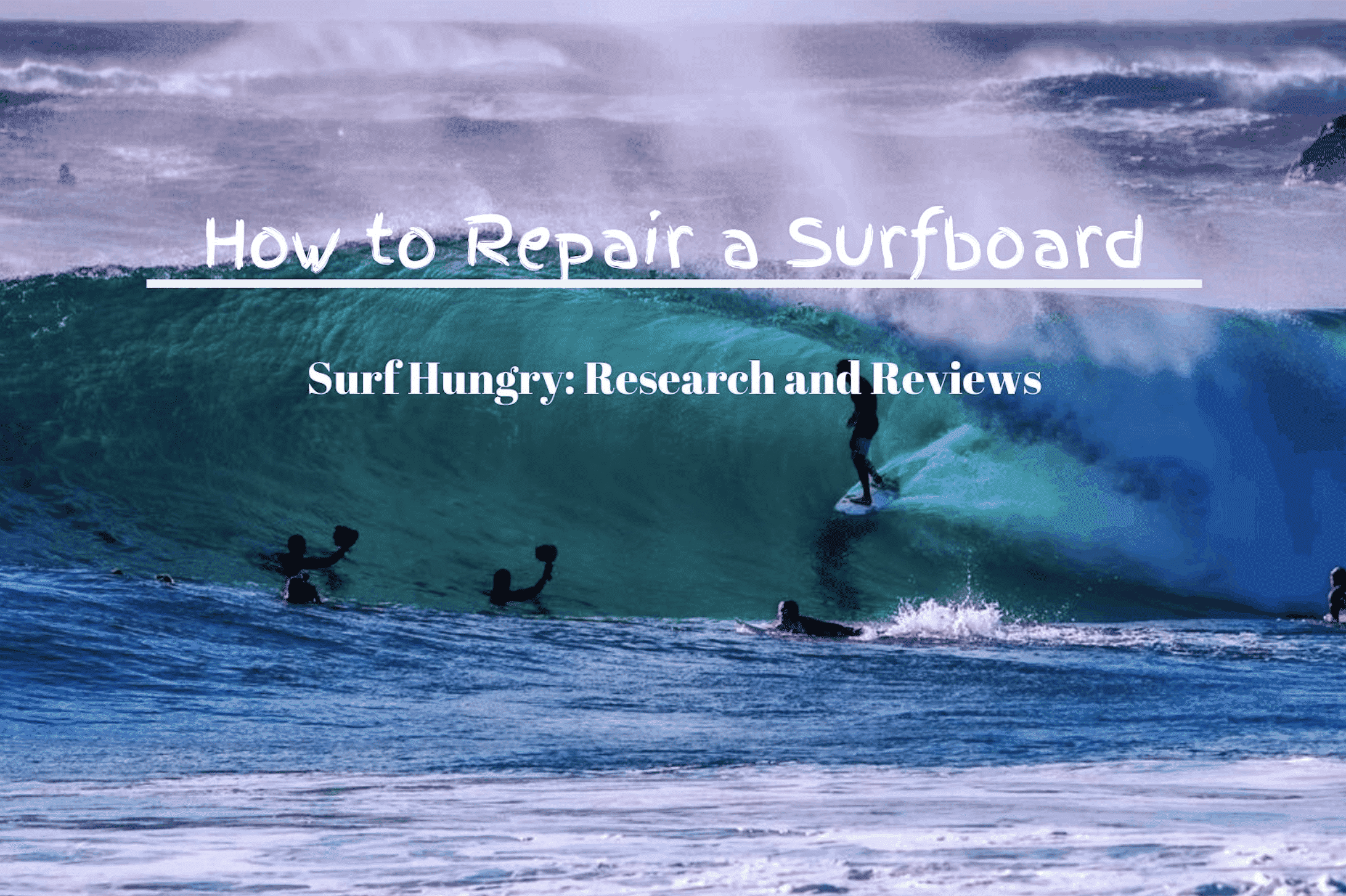 how to repair a surfboard
