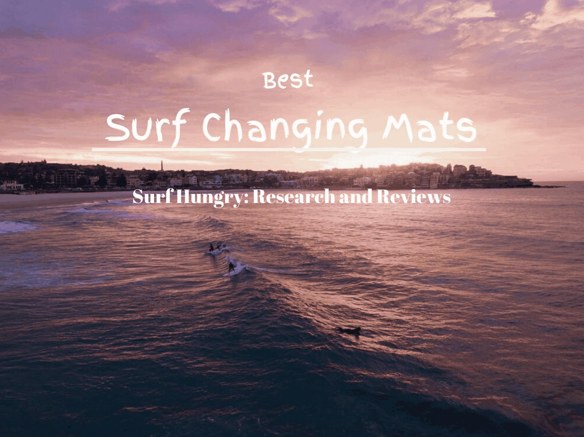best surf changing mats
