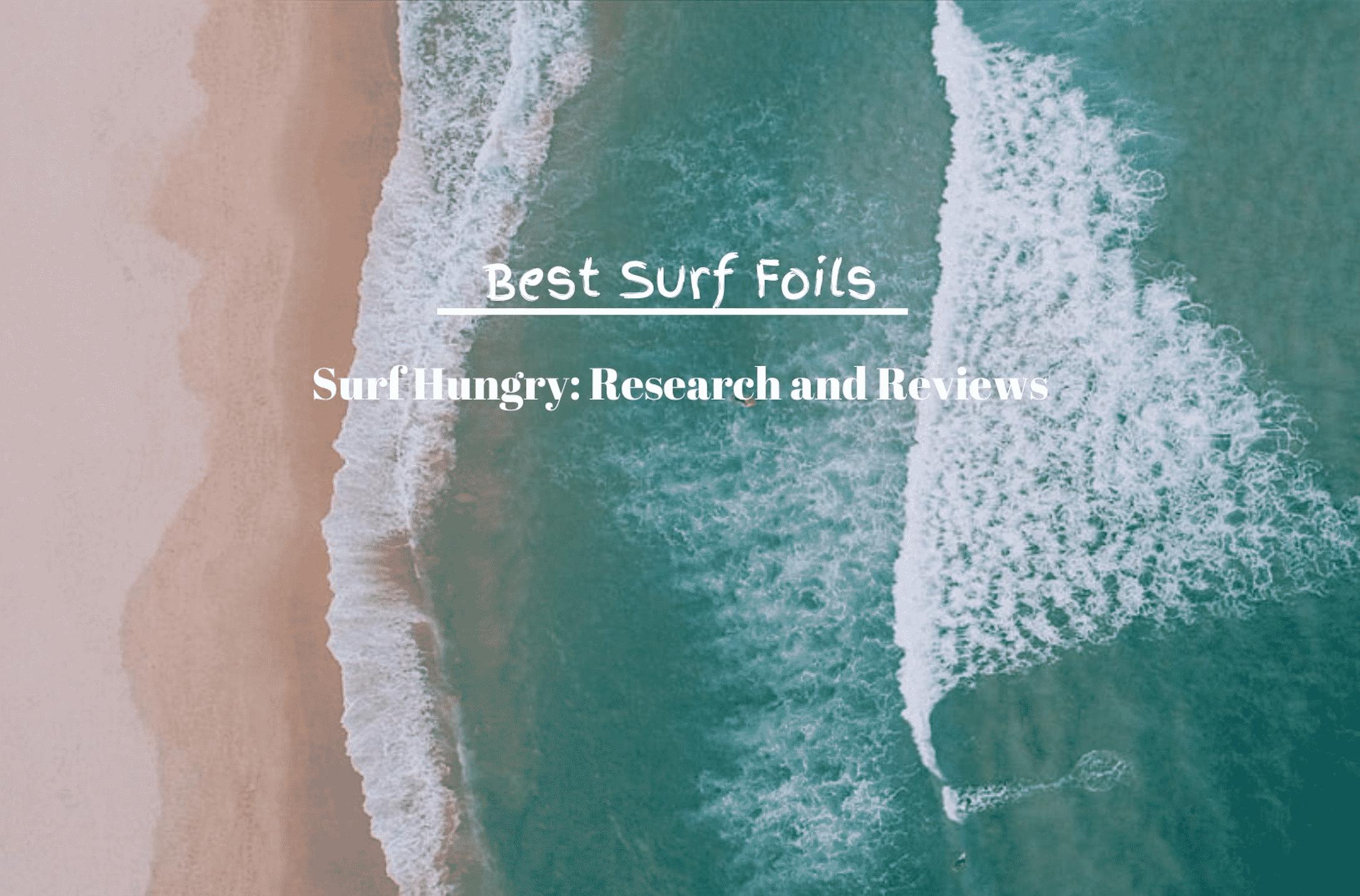 best surf foils