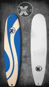 Triple X 8' Waverly Soft Top Surfboard