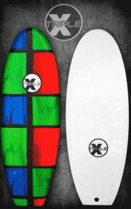 "Triple X 4' 11"" Chaos Soft Top Surfboard"