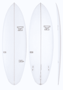 7s Double Down PU Hybrid Surfboard