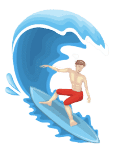 surfing homepage