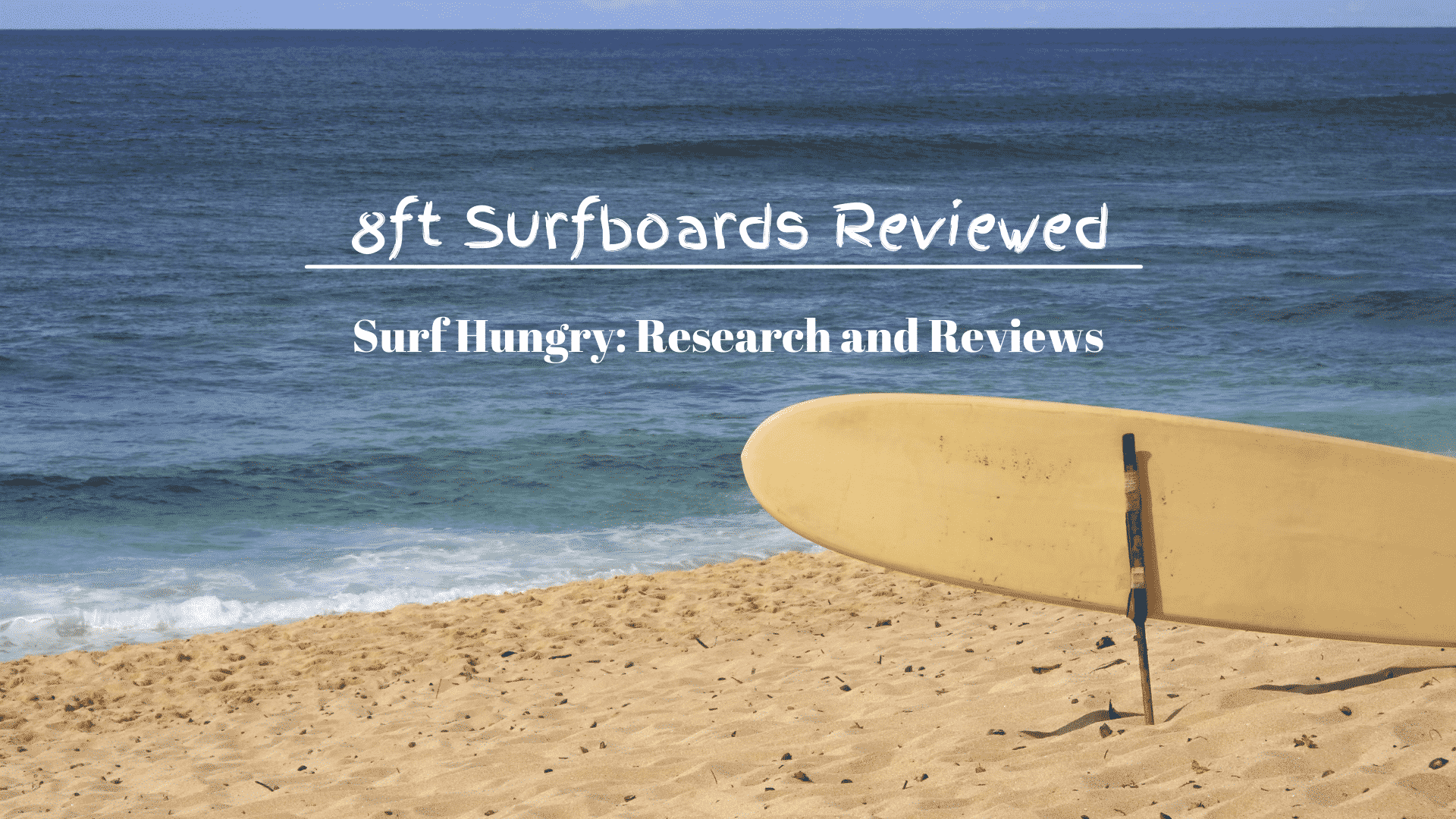 8ft Surfboards