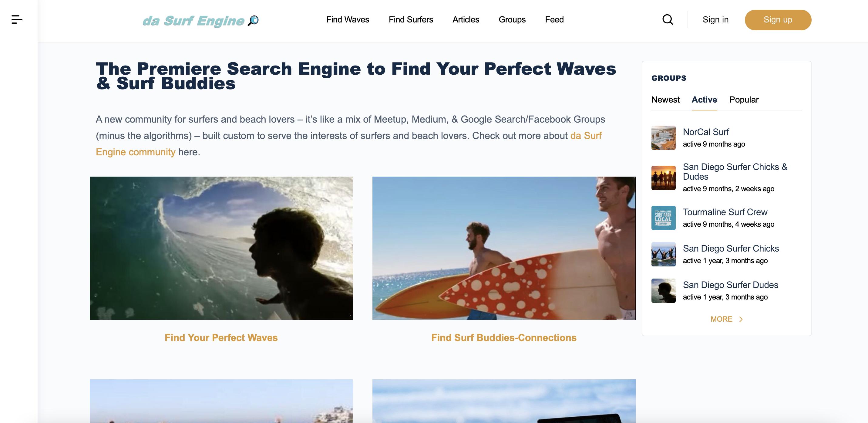 da surf engine